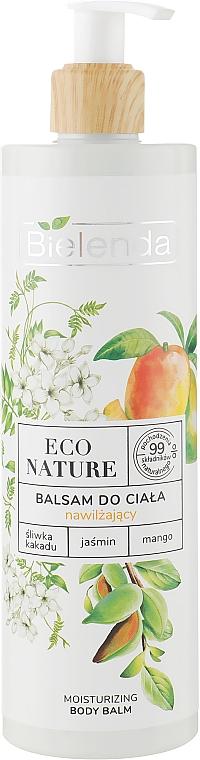 Hydratačný telový balzam - Bielenda Eco Nature Kakadu Plum, Jasmine and Mango