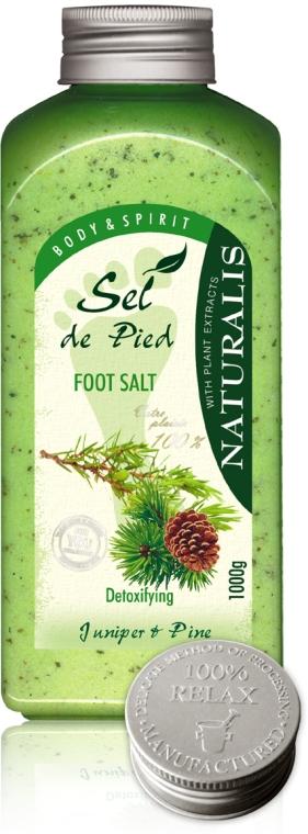 Soľný kúpeľ na nohy - Naturalis Sel de Pied Juniper And Pine Foot Salt