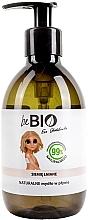 """Voňavky, Parfémy, kozmetika Tekuté mydlo """"Ľanové semienka"""" - BeBio Natural Liquid Soap Flax Seeds"""