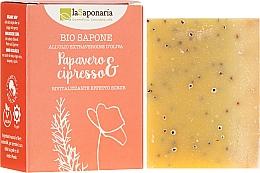 """Voňavky, Parfémy, kozmetika Bio mydlo """"Mak a cyprus"""" - La Saponaria Bio Sapone"""