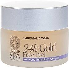 Voňavky, Parfémy, kozmetika Zlatý peeling na tvár - Natura Siberica Fresh Spa Imperial Caviar Rejuvenating Golden Face Peel 24K Gold