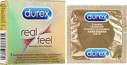 """Voňavky, Parfémy, kozmetika Kondómy """"Prirodzené pocity"""", 3 ks - Durex Real Feel"""
