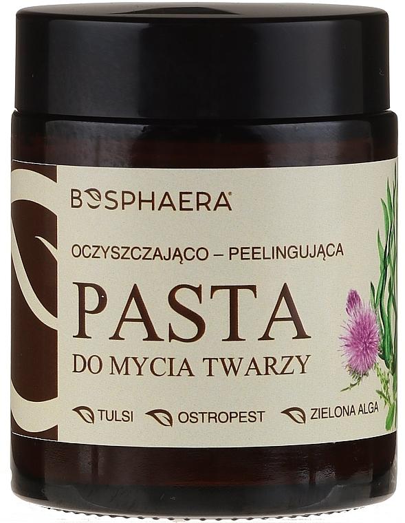 Čistiaca peelingová pasta na tvár so zelenými morskými riasami - Bosphaera