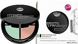 Voňavky, Parfémy, kozmetika Hypoalergénne korektor na tvár - Bell Hypoallergenic Skin Camouflage Concealer