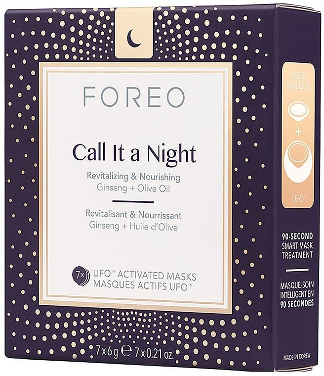 Revitalizujúca nočná maska na tvár - Foreo Ufo Call It a Night Mask