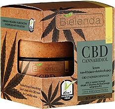 Voňavky, Parfémy, kozmetika Detoxikačný krém na tvár - Bielenda CBD Cannabidiol Cream