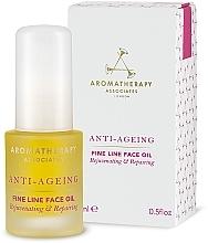 Voňavky, Parfémy, kozmetika Protistarnúci olej proti vráskam - Aromatherapy Associates Anti-Ageing Fine Line Face Oil