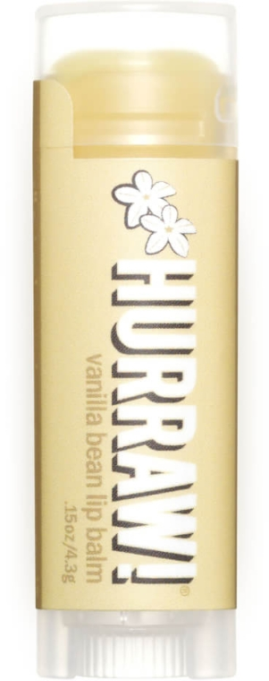 "Balzam na pery ""Vanilka"" - Hurraw! Vanilla Bean Lip Balm — Obrázky N1"