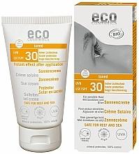 Voňavky, Parfémy, kozmetika Opaľovací krém SPF 30 s účinkom opaľovania - Eco Cosmetics Sonne SLF 30 Getoent