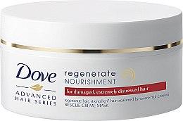 """Voňavky, Parfémy, kozmetika Výživná krém-maska na vlasy """"Progresívna obnova"""" - Dove Advanced Regenerate Nourishment Creme Mask"""