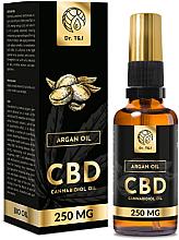 Voňavky, Parfémy, kozmetika Prírodný arganový olej CBD 250mg - Dr. T&J Bio Oil