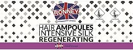 Voňavky, Parfémy, kozmetika Ampulky na vyhladenie vlasov - Ronney Professional Hair Ampoules Intensive Silk Regenerating