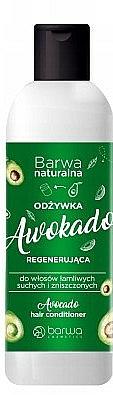 "Kondicionér na vlasy ""Avokádo"" - Barwa Avocado Hair Conditioner"