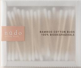 Voňavky, Parfémy, kozmetika Bambusové vatové tyčinky - Nudo Nature Made Bamboo Cotton Buds