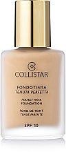 Voňavky, Parfémy, kozmetika Make-up - Collistar Perfect Wear Foundation SPF 10