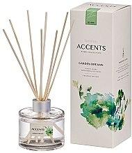 """Voňavky, Parfémy, kozmetika Aromatický difúzor """"Paradajkové listy, bylinky a mäkký mach"""" - Bolsius Fragrance Diffuser Garden Dreams"""