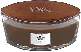 Voňavky, Parfémy, kozmetika Vonná sviečka v pohári - WoodWick Humidor Ellipse Scented Candle