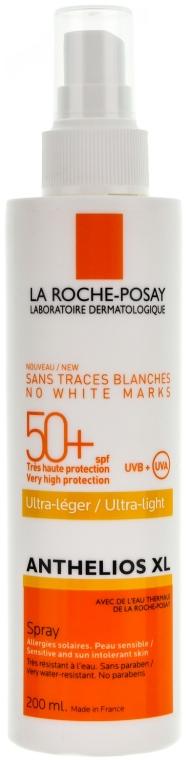 Ochranný opaľovací prostriedok na tvár a telo - La Roche-Posay Anthelios Xl Ultra-light SPF 50+