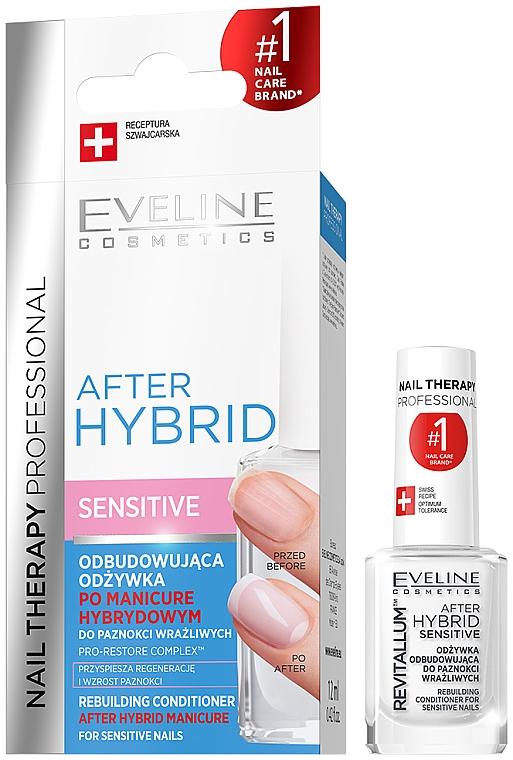 Obnovujúci kondicionér na nechty - Eveline Cosmetics After Hybrid Rebuilding Conditioner