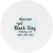 Voňavky, Parfémy, kozmetika Hlinová maska na tvár - Nacomi Black Clay