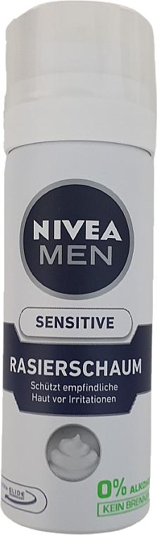 Pena na holenie pre citlivú pokožku - Nivea For Men Active Comfort System Shaving Foam (mini) — Obrázky N1