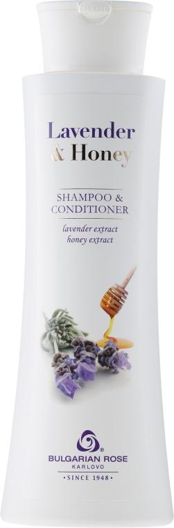 Šampón-kondicionér na vlasy - Bulgarian Rose Lavender & Honey