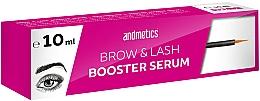 Voňavky, Parfémy, kozmetika Sérum na rast obočia a mihalníc - Andmetics Brow & Lash Booster Serum
