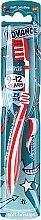 Voňavky, Parfémy, kozmetika Detská zubná kefka, 9-12 rokov, červená a biela - Aquafresh Advance Soft