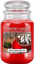 Voňavky, Parfémy, kozmetika Vonná sviečka v pohári - Country Candle Hot Chocolate