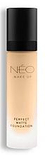 Voňavky, Parfémy, kozmetika Zmatňujúci make-up - NEO Make Up Perfect Matte Foundation