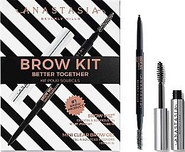 Voňavky, Parfémy, kozmetika Sada - Anastasia Beverly Hills Better Together Brow Kit Taupe (pencil/0.085g + gel/2.5ml)