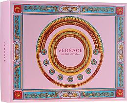 Voňavky, Parfémy, kozmetika Versace Bright Crystal - Sada (edt/50ml + b/lot/50ml + sh/gel/50ml)