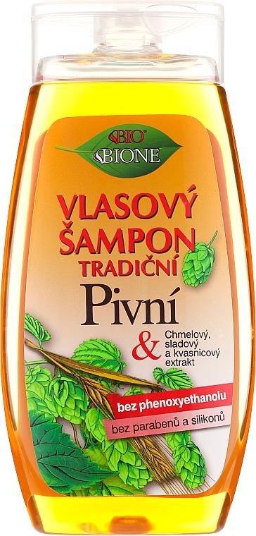 """Šampón na vlasy """"Pivný"""" - Bione Cosmetics Traditional Beer Hair Shampoo"""