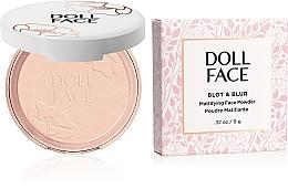 Voňavky, Parfémy, kozmetika Zmatňujúci púder - Doll Face Blot & Blur Mattifying Powder