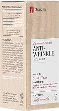 Voňavky, Parfémy, kozmetika Lotion na tvár - Phenome Sustainable Science Anti-Wrinkle Face Lotion