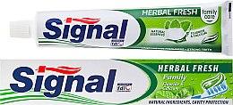 Voňavky, Parfémy, kozmetika Bylinná zubná pasta - Signal Family Herbal Fresh Toothpaste