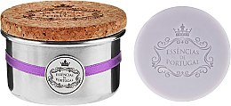 Voňavky, Parfémy, kozmetika Prírodné mydlo - Essencias De Portugal Tradition Aluminum Jewel-Keeper Lavender