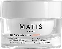 Voňavky, Parfémy, kozmetika Upokojujúci krém proti vráskam pre citlivú pokožku - Matis Reponse Delicate Sensi-Age