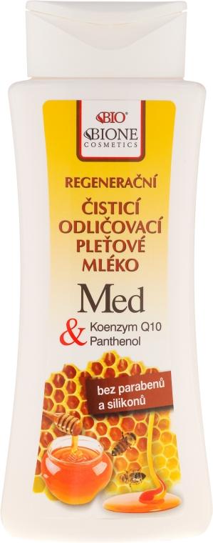 Mlieko na tvár - Bione Cosmetics Honey + Q10 Milk