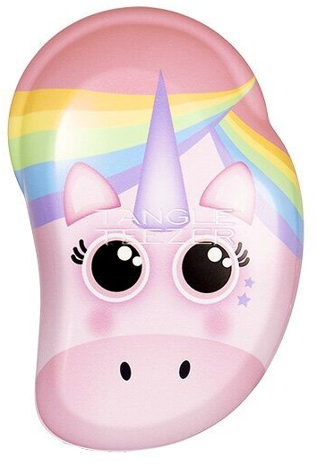 Detská kefa na vlasy - Tangle Teezer The Original Mini Children Detangling Hairbrush Rainbow The Unicorn