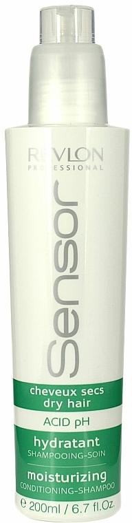 Šampón-kondicionér hydratačný krém na suché vlasy - Revlon Professional Sensor Shampoo Moisturizing — Obrázky N1