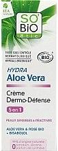 """Voňavky, Parfémy, kozmetika Ochranný krém na tvár """"Aloe Vera"""" - So'Bio Etic Hydra Aloe Vera Creme"""