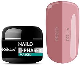 Voňavky, Parfémy, kozmetika Gél na nechty - Silcare Nailo 1-Phase Gel UV Masked