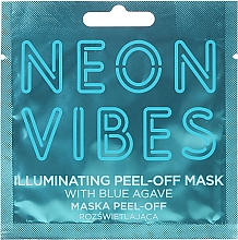 Voňavky, Parfémy, kozmetika Maska na tvár - Marion Neon Vibes Illuminating Peel-Off Mask