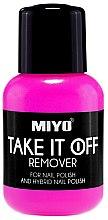 Voňavky, Parfémy, kozmetika Prostriedok pre odstránenie laka - Miyo Take It Off Remover