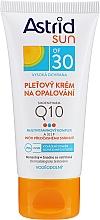 Voňavky, Parfémy, kozmetika Opaľovací krém na tvár Q10 SPF30 - Astrid Sun Protecting Face Cream Q10 SPF30