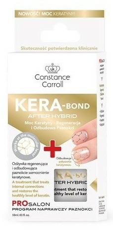 Spevňovač na nechty s keratínom - Constance Carroll Nail Care Kera-Bond After Hybrid — Obrázky N1