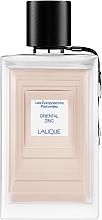 Voňavky, Parfémy, kozmetika Lalique Oriental Zinc - Parfumovaná voda