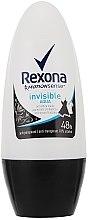 """Voňavky, Parfémy, kozmetika Guľôčkový dezodorant """"Invisible Aqua"""" - Rexona Deodorant Roll"""