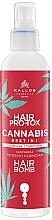 Voňavky, Parfémy, kozmetika Tekutý kondicionér na vlasy - Kallos Hair Pro-Tox Cannabis Hair Bomb Liquid Conditioner